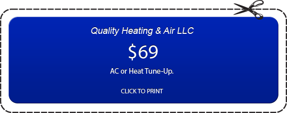 69$ AC or Heat Tune Up Coupon by QHA in Murfreesboro