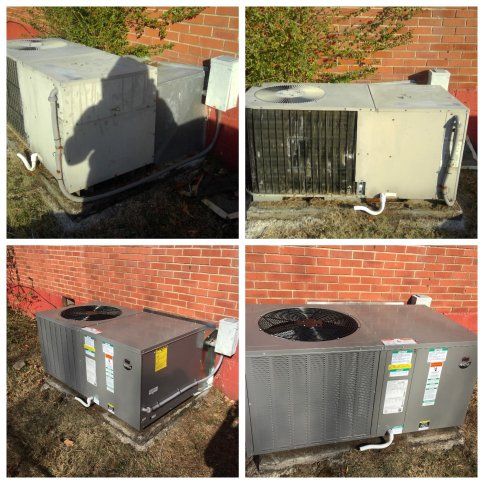 Before/after HVAC Fixes by Quality Heating & Air LLC